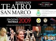 Rossano- Stagione teatrale 2009